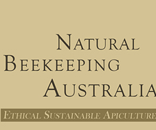 Natural Beekeeping Australia Logo Left