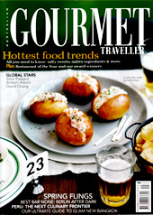 Malfroy's gold Gourmet Traveller Sep 2012