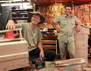 Natural Beekeeping Australia Warré Hives